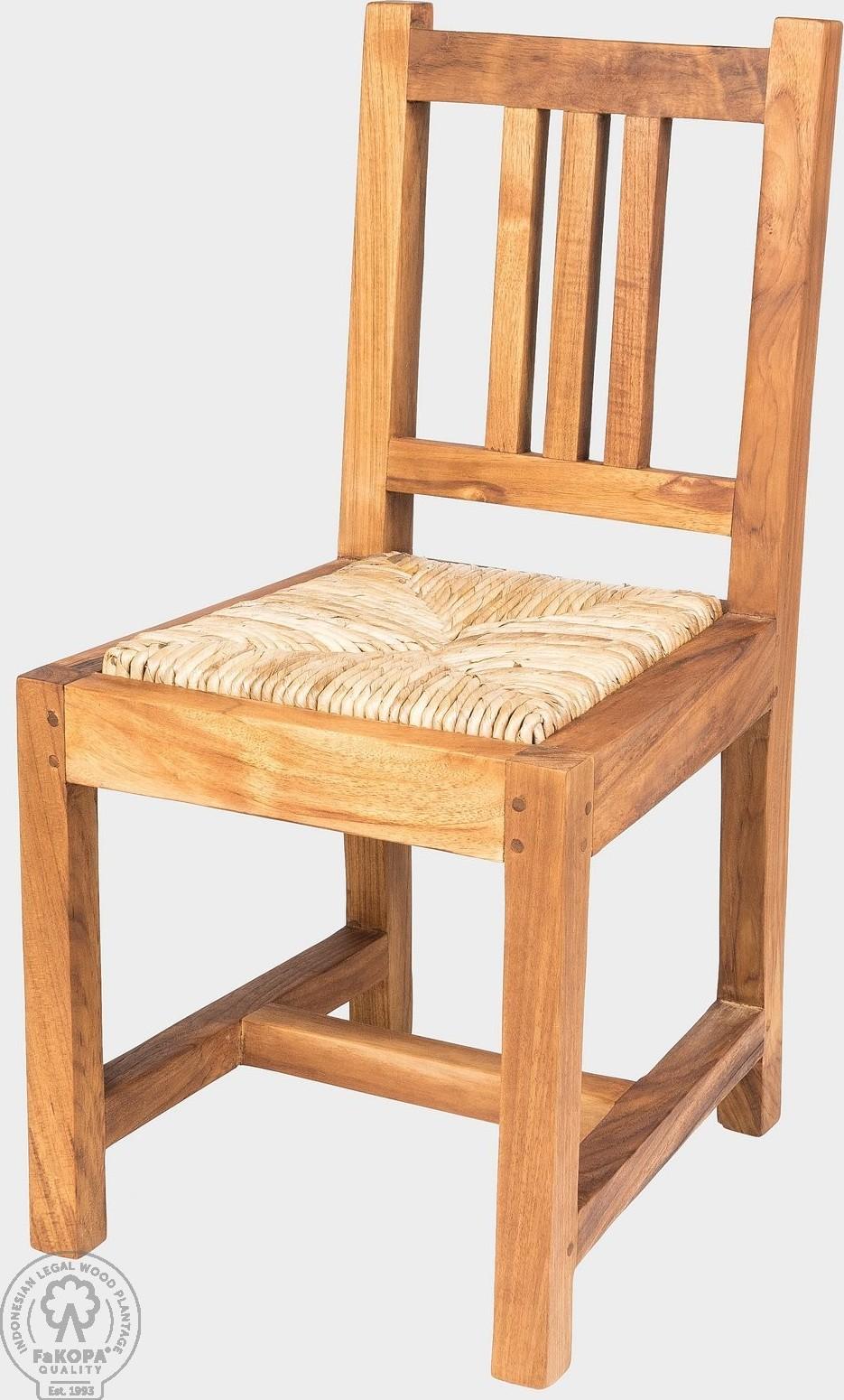 FaKOPA Stabilní dětská dřevěná židlička Mara