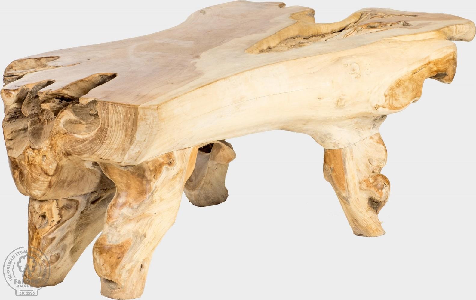 FaKOPA Originální lavička z kořenového dřeva Miriam