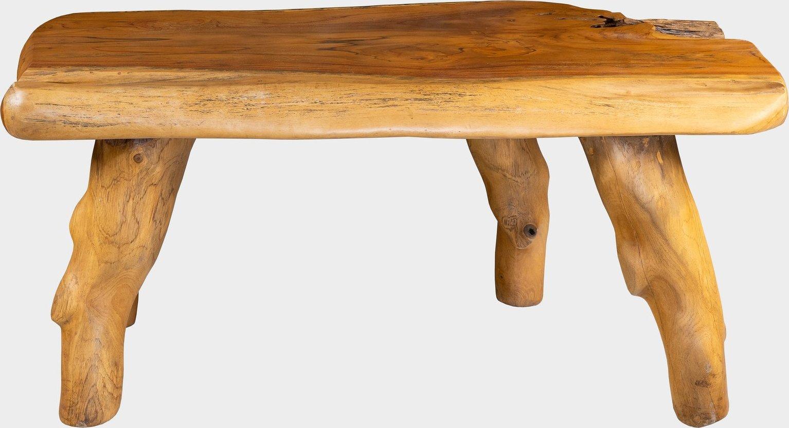 FaKOPA Unikátní lavice na zahradu nebo do interieru z kořene teaku