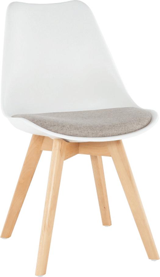 Moderní bílá židle do kuchyně