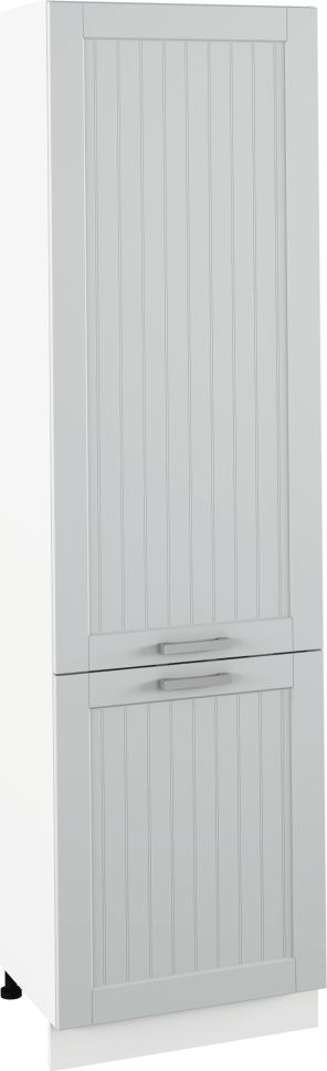 Potravinová skříňka, světlešedá/bílá, JULIA TYP 80