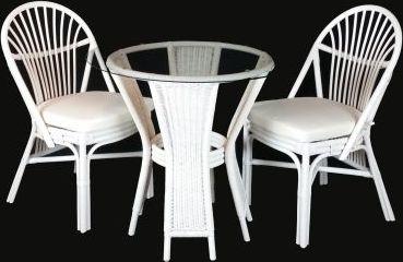 Skleněný stolek 2+1