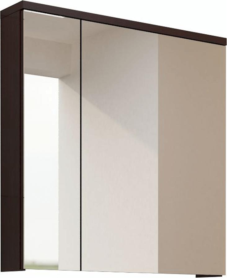 Skříňka se zrcadlem, wenge, MASON WE14