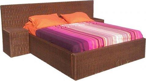 Axin Trading s.r.o. Ratanová postel Aurora