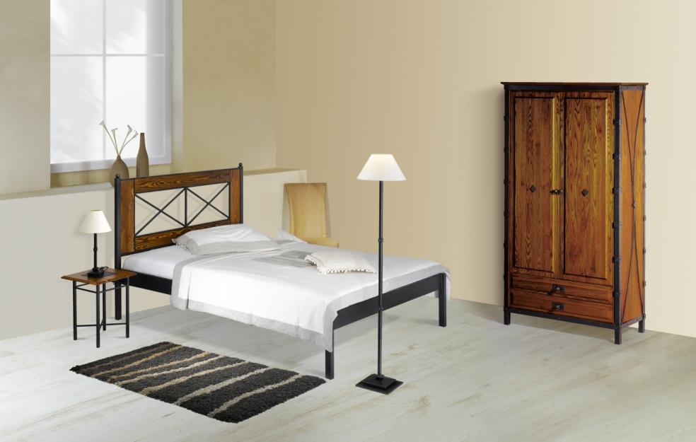 Kovová postel CHAMONIX