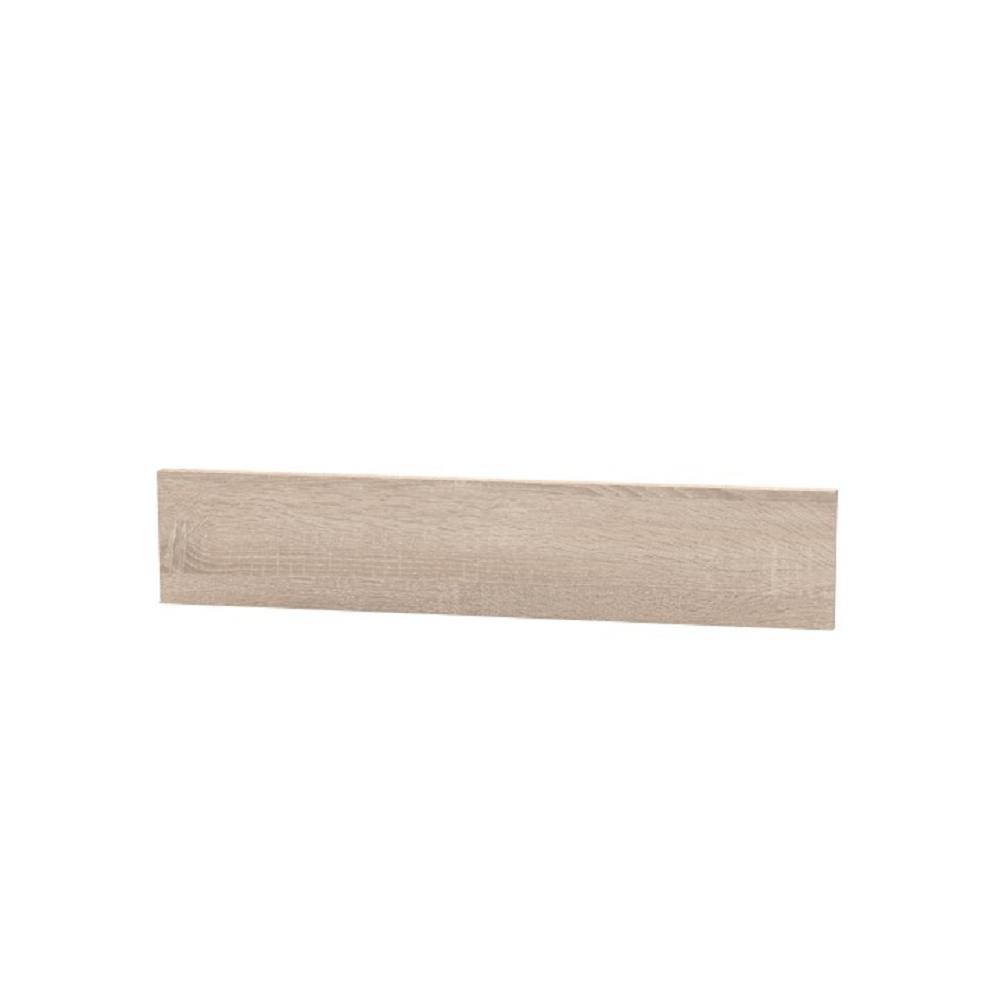 Koncový boční sokl na vysoké skříňky, dub sonoma, NOPL-062-01