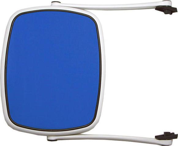 Nardi Slnečná clona pre lehátko - Biely rám' modrý výplet