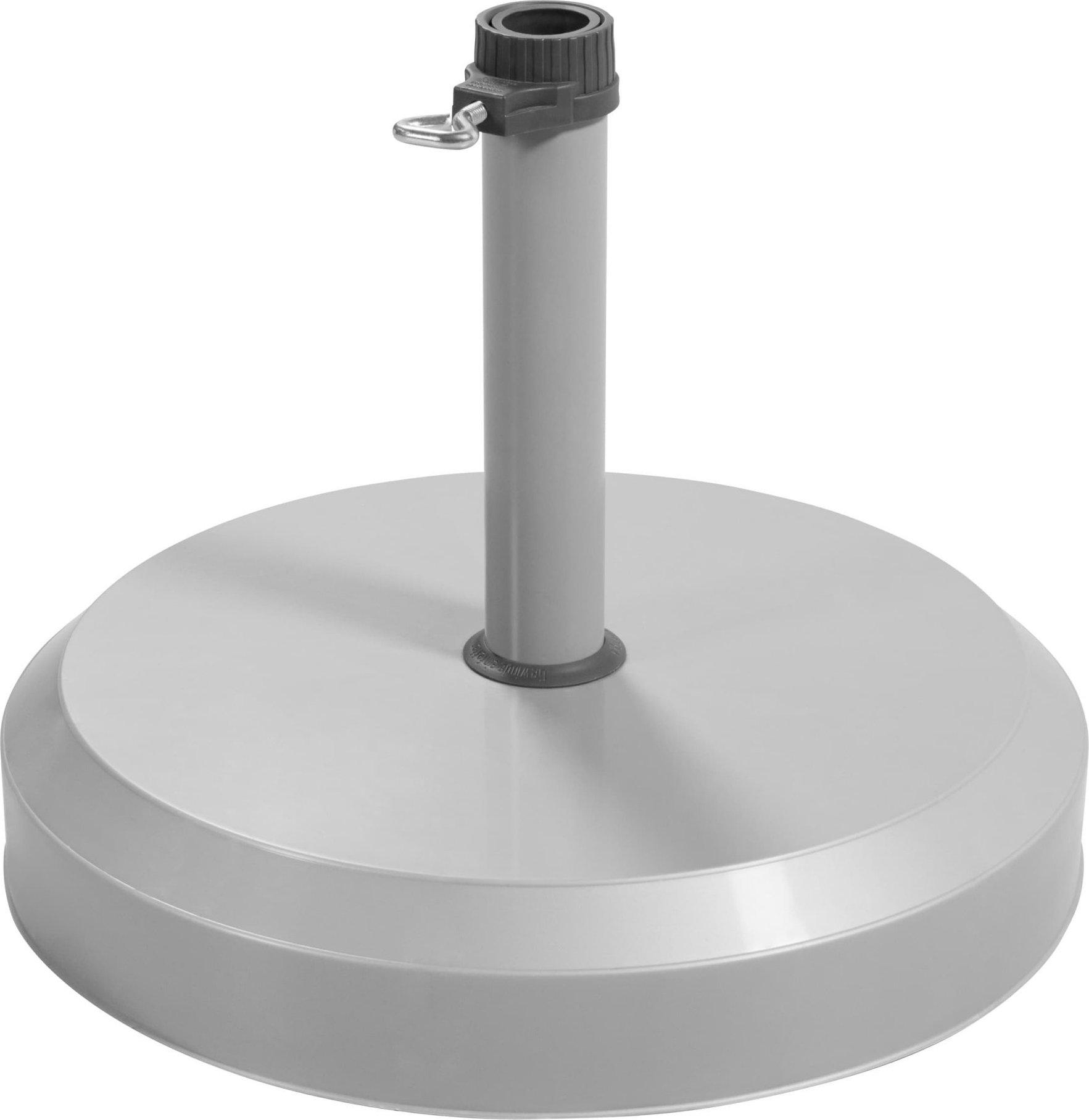 Doppler Sokl betonový 25 kg stříbrný