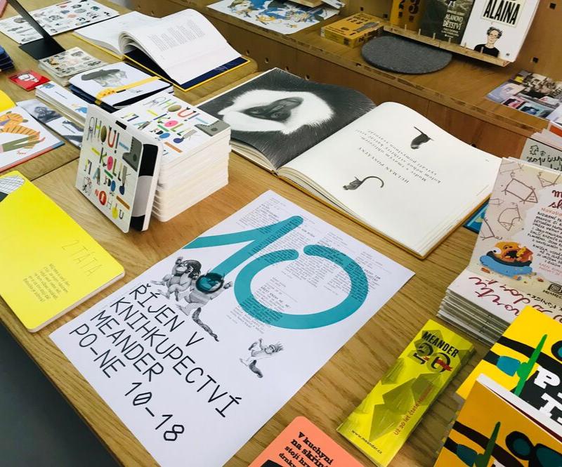 Program v knihkupectví Meander - Říjen 2019