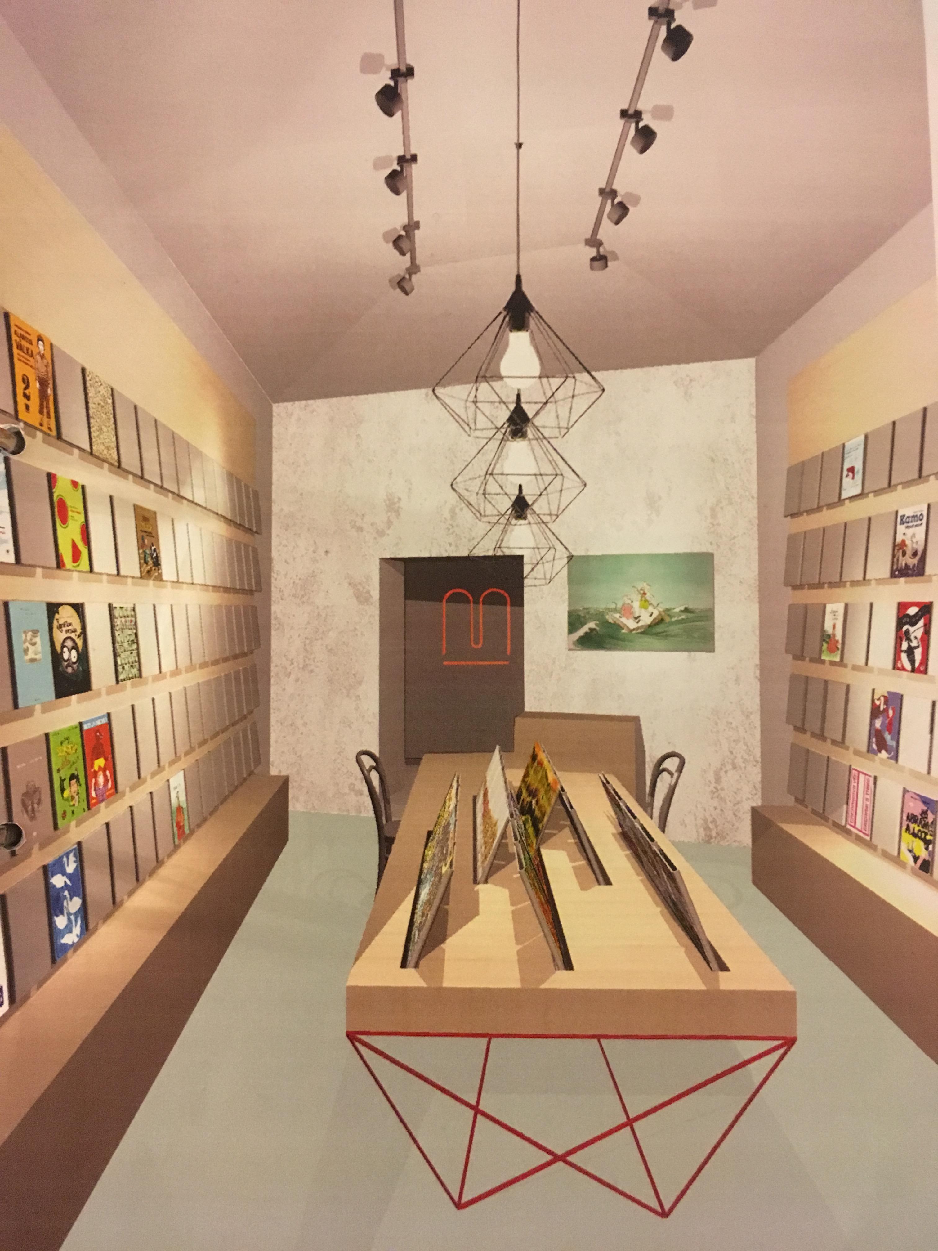 První meandří knihkupectví