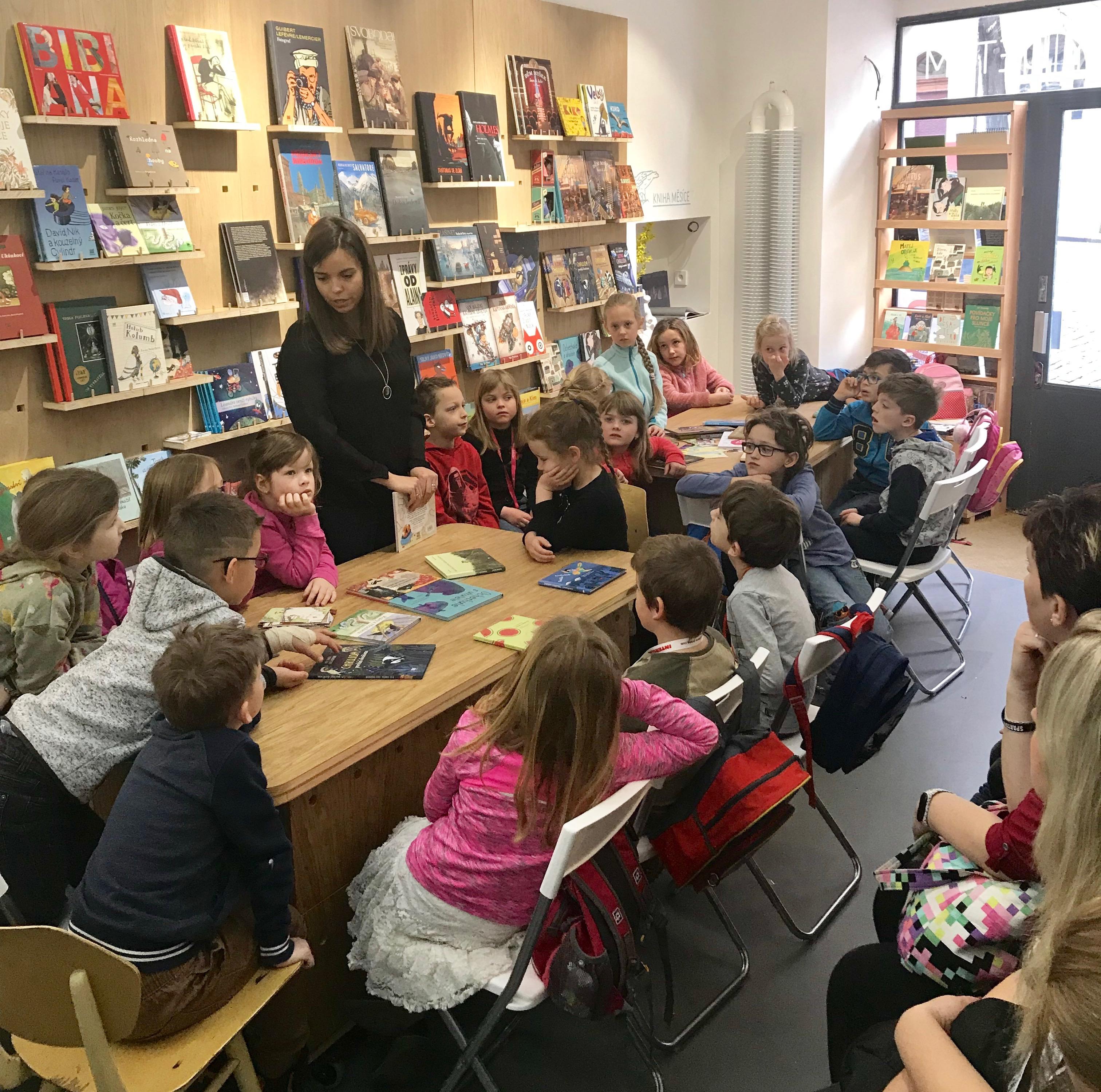 """""""Jak vzniká dětská kniha?"""" program pro školní skupiny v našem knihkupectví"""