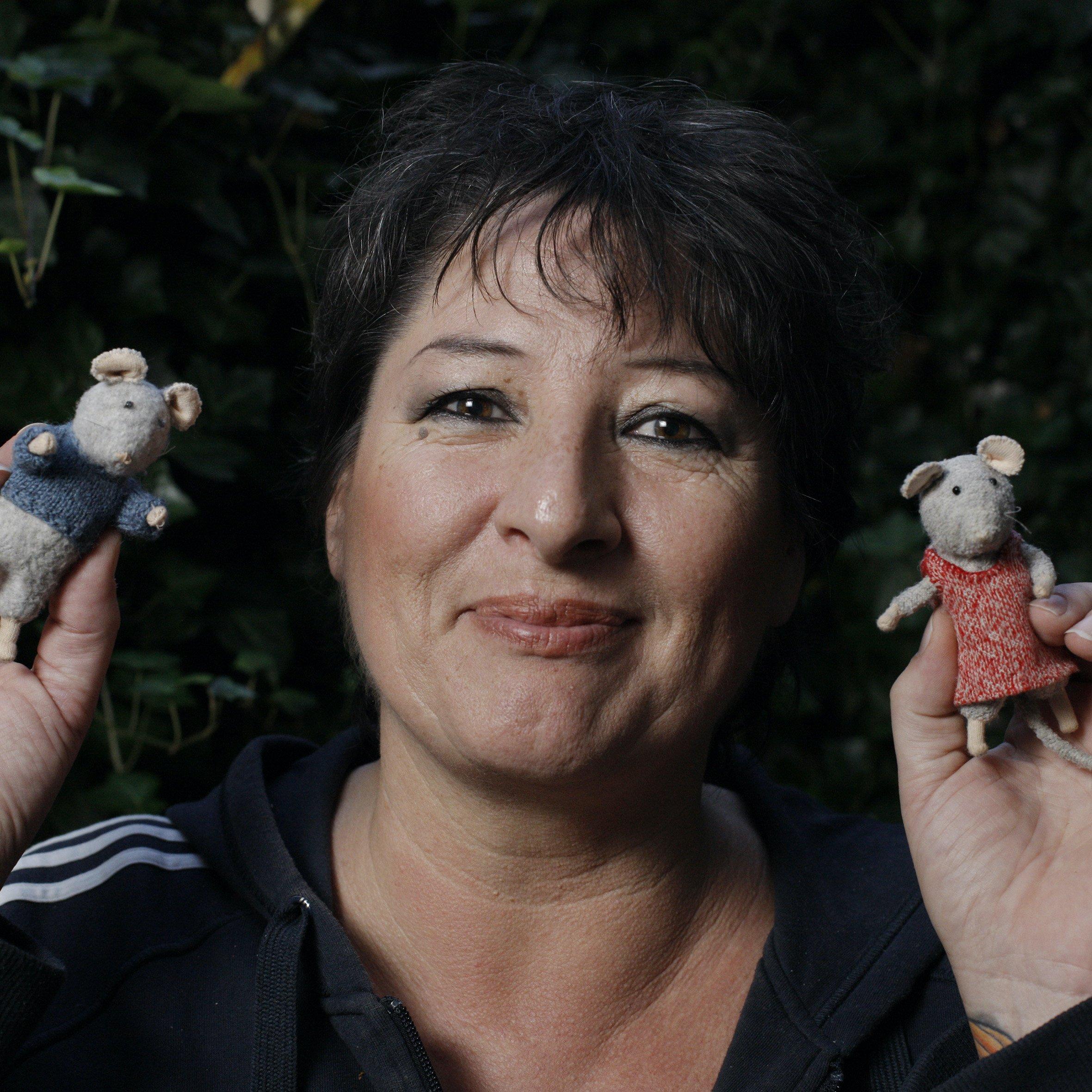 """Karina Schaapman: """"Dům myšek představuje bezpečný svět."""""""