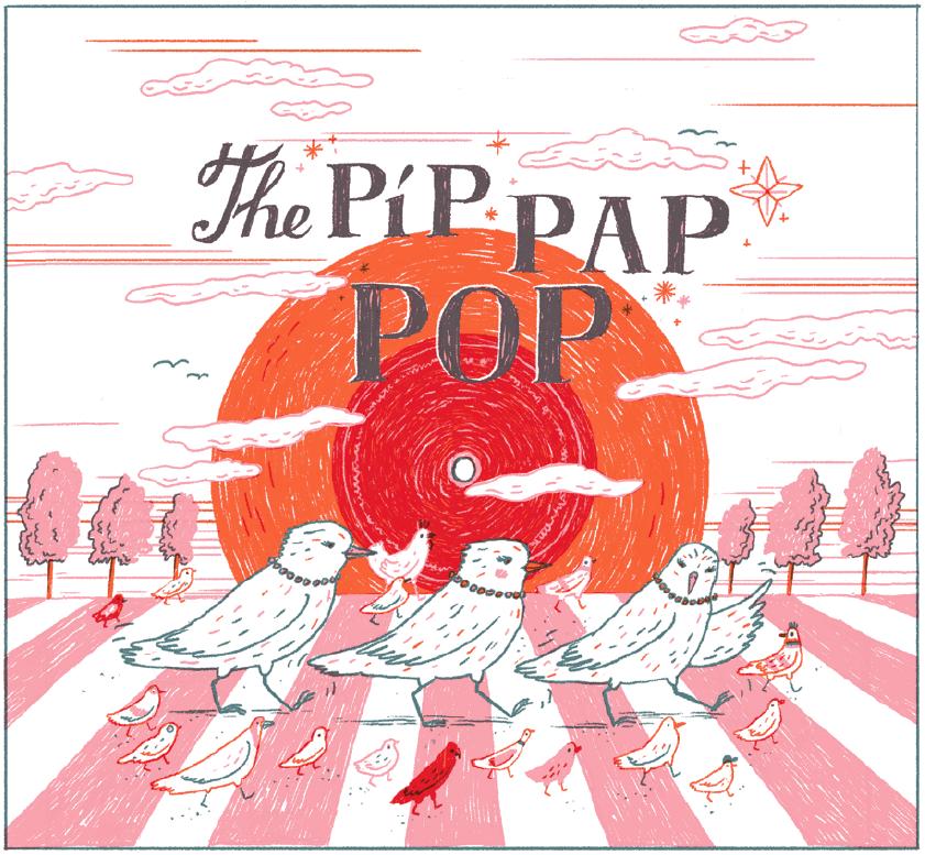Ukázka: The Píp Pap Pop od Emmy Pecháčkové
