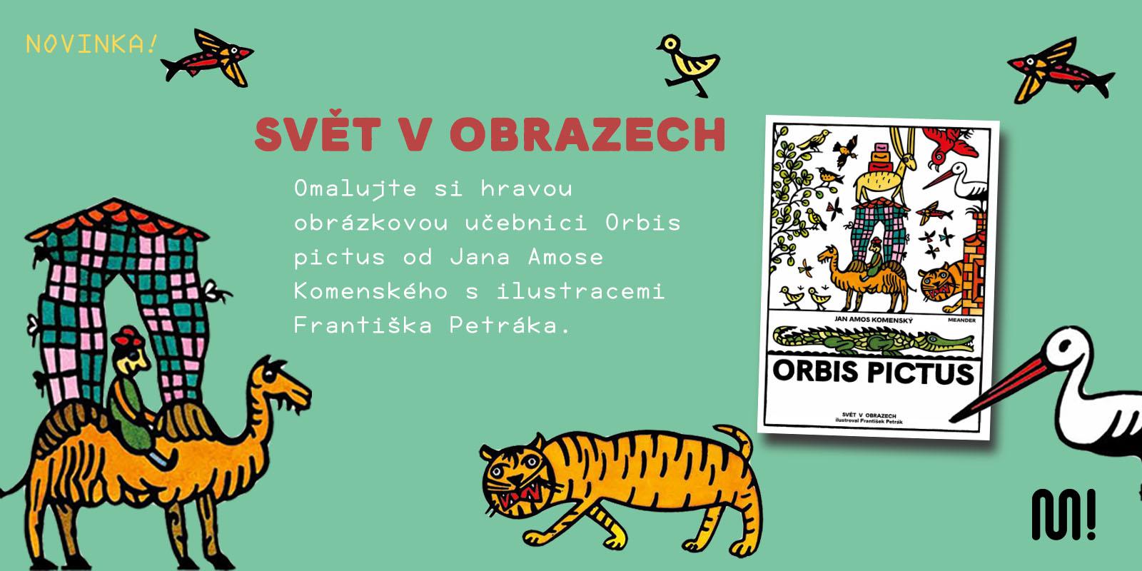 Knižní novinka Orbis Pictus - desktop