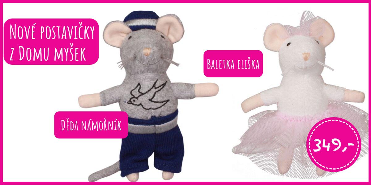Děda námořník a baletka Eliška z Domu myšek