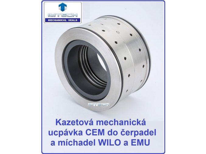 WILO a EMU čerpadla a míchadla mechanická ucpávka