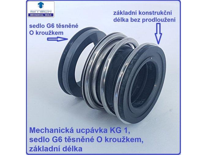 mechanická ucpávka KG1 upchávka MG1 do čerpadel do čerpadiel
