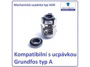 Mechanická ucpávky typ AGR kompatibilní s ucpávkou Grundfos typ A – kopie