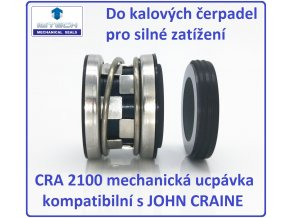 Mechanická ucpávka CRA 2100 kompatibilní s JOHN CRAINE