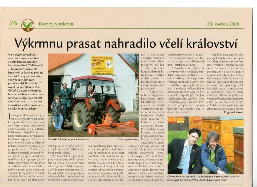 Časopis agrobase, květen 2009