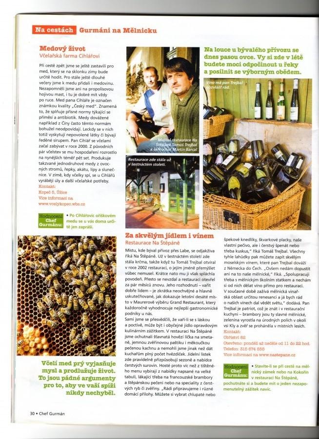 Časopis Gurmán (březen 2010)