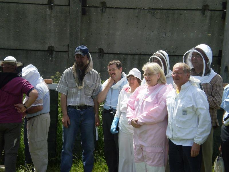 Angličtí včelaři, 2008