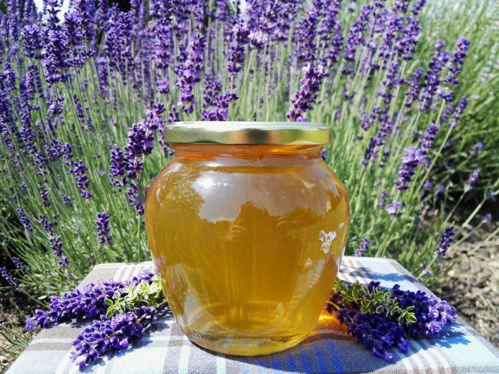 Med květový s akátem