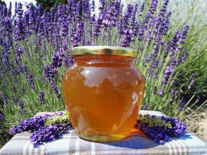 Med květový s lípou