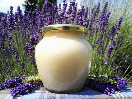 Med květový pastovaný 750 g  Med květový pastovaný