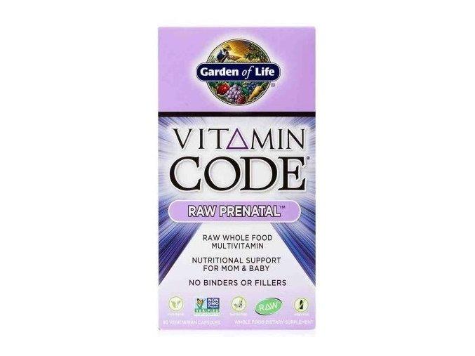 garden of life vitamin prenatal 90kapsli
