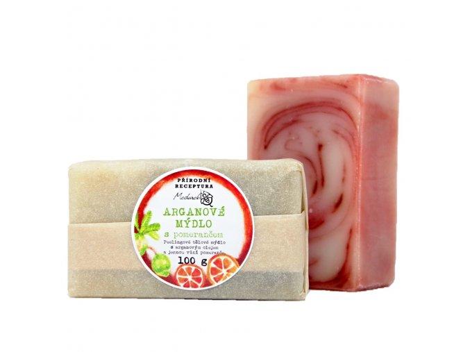 Arganové mýdlo