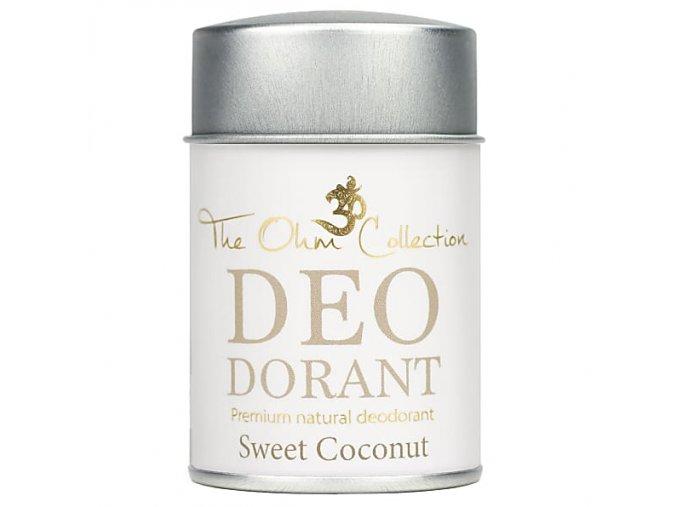 Pudrový deodorant kokos