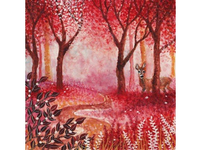Srnečka v lese