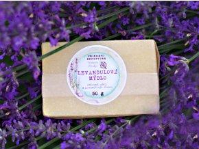 Levandulové mýdlo Medarek