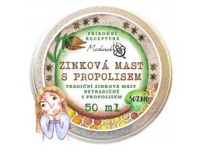 Medarek Zinková mast s propolisem 50 ml ilustrace akné