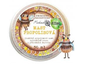 Medarek Propolisová mast 50 ml ilustrace
