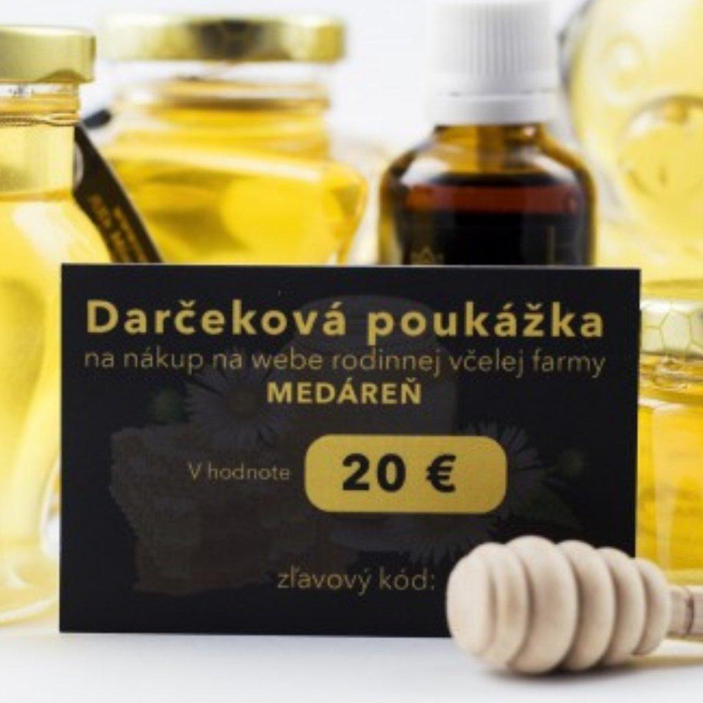 Darčeková poukážka 20 EUR - Medáreň