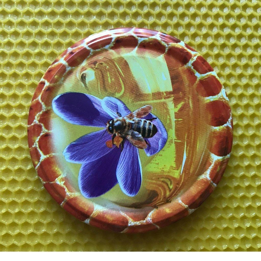 Viečko plechové TWIST včielka - Medáreň