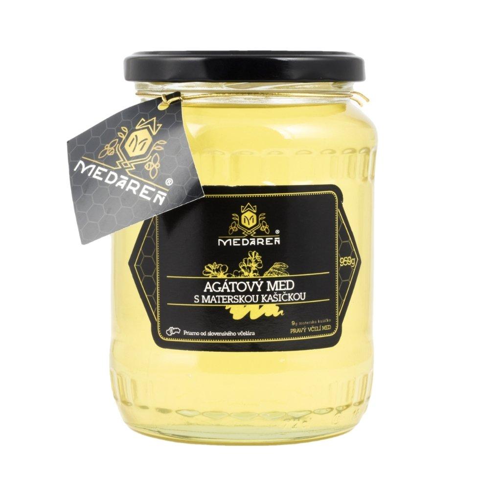 Agátový med s materskou kašičkou | Medáreň
