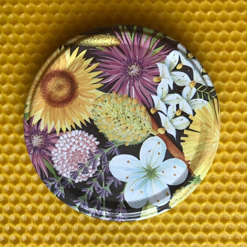 Viečko plechové TWIST kvety - Medáreň