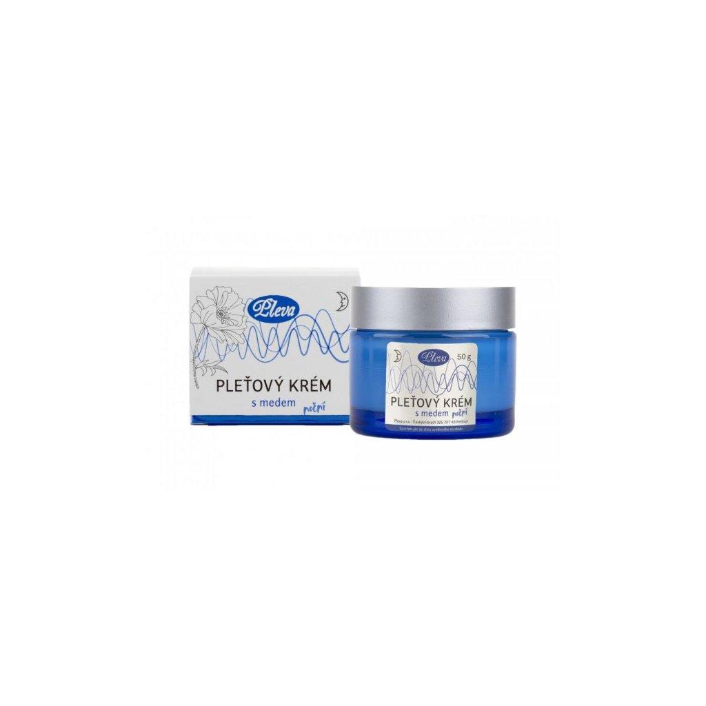 Pleťový krém s medom nočný 50g