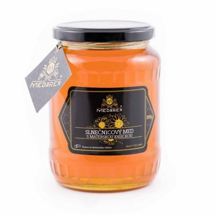 Slnečnicový med s materskou kašičkou - Medáreň