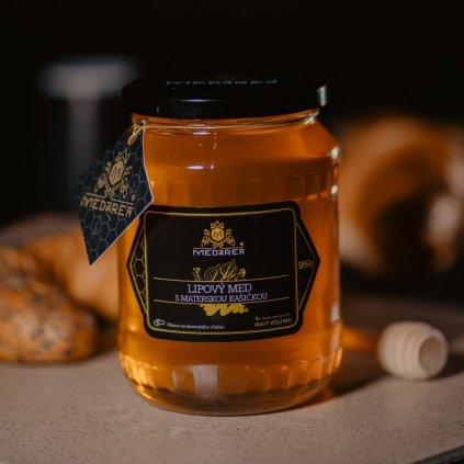 Lipový med s materskou kašičkou 958g