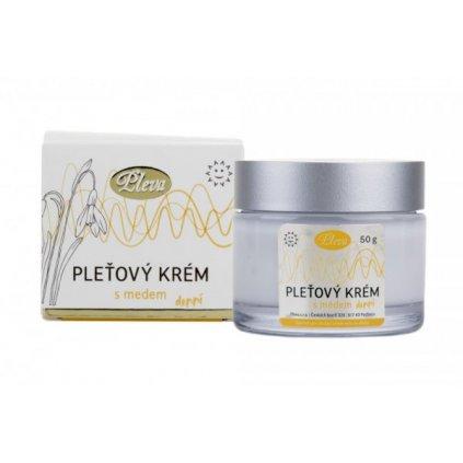 Pleťový krém s medom denný 50g