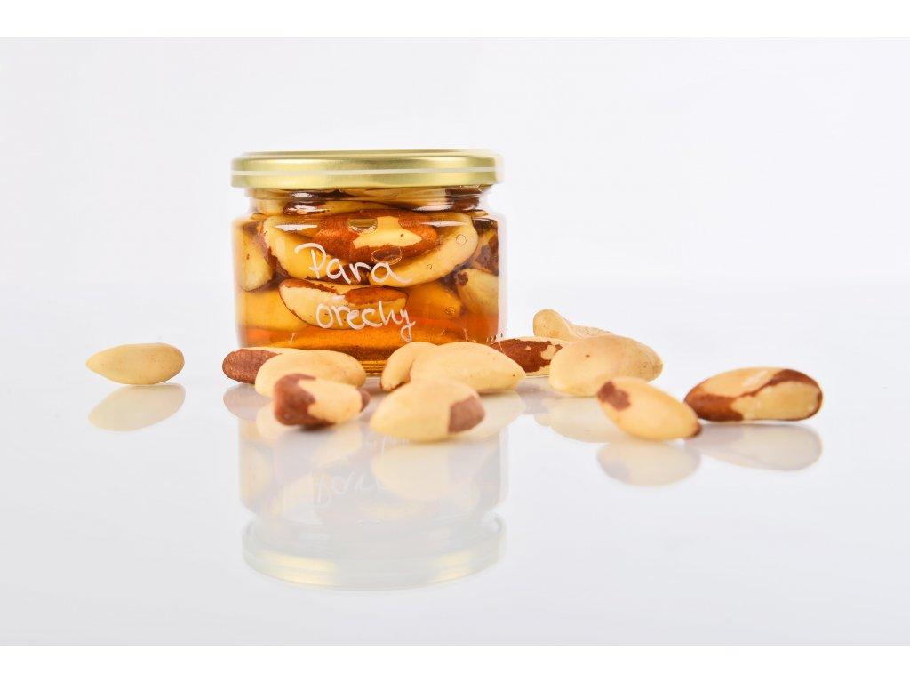 Para ořechy  Podpora pružnosti pleti