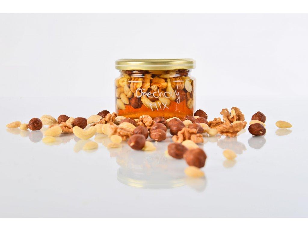 Ořechový MIX  Superpotravinový zdroj zdravých látek