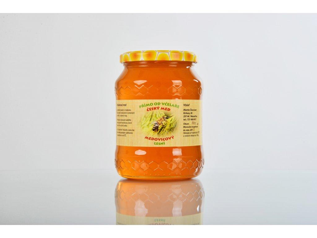 Med medovicový (lesní)  Ze zalesněných strání Přírodního parku Střed Čech