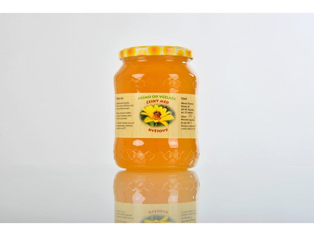 Med květový  Z rozkvetlých pastvin Přírodního parku Střed Čech