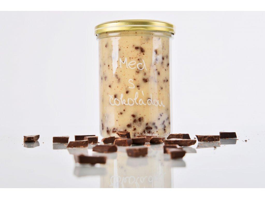 Med s čokoládou  Lahodná pochoutka