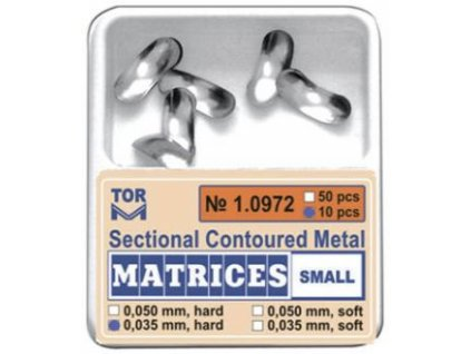 Sectional Contoured Metal Matrices
